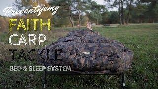 Łóżko karpiowe ze śpiworem Faith Carp Tackle / prezentacja
