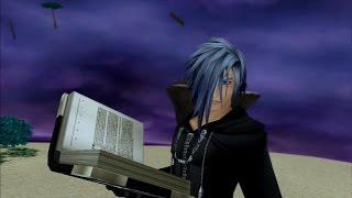 Data Zexion (Critical Mode) - Kingdom Hearts HD II.5 ReMIX