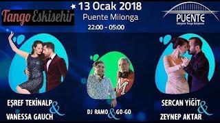 Eşref Tekinalp & Vanessa Gauch 3-3 / 7.Puente Eskişehir Tango Festivali