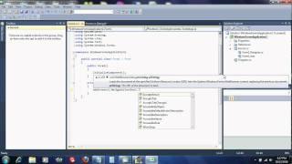 C# Web Browser Tutorial
