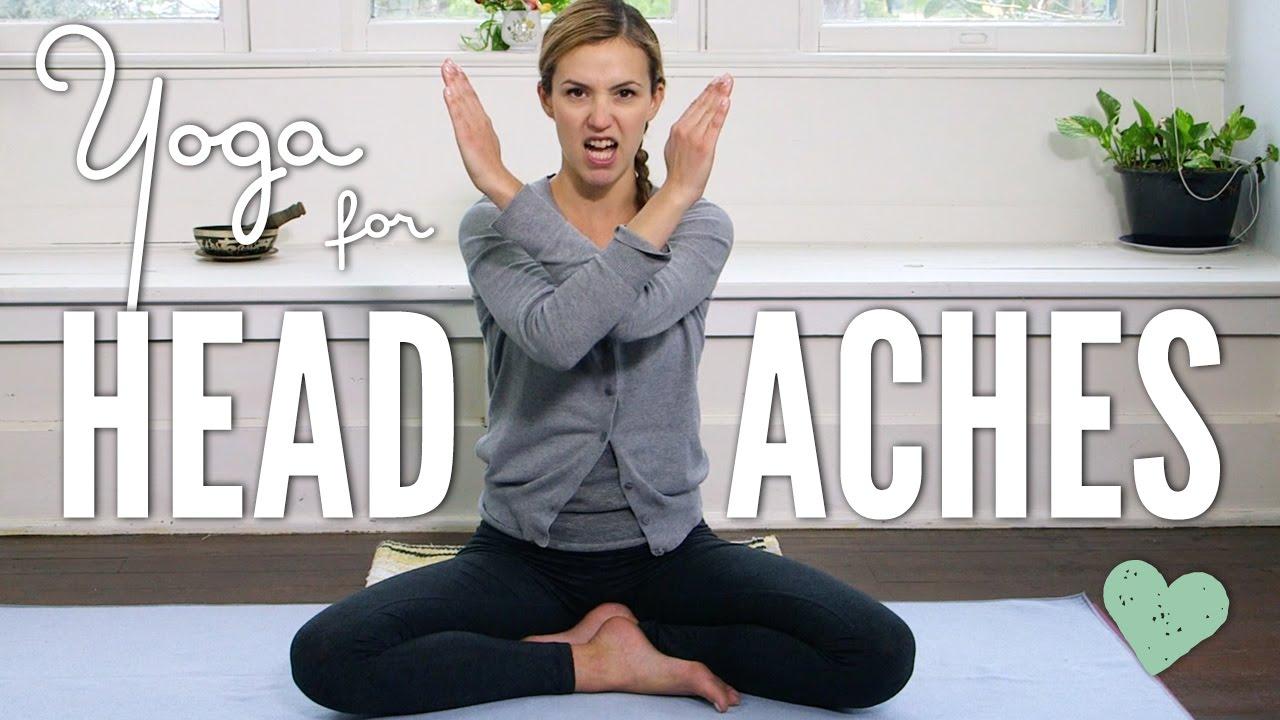 Yoga For Headaches Youtube