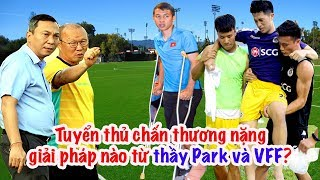 Đình Trọng chấn thương - HLV Park Hang Seo & VFF làm gì? Vlog Minh Hải