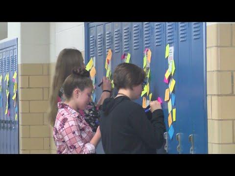 "Knox City High School students ""spread kindness like wildfire"""