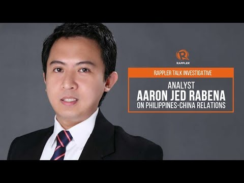 [WATCH] Rappler Talk: Analyst Aaron Jed Rabena on Philippines-China relations