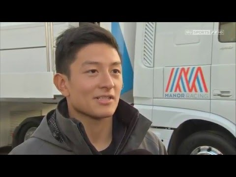 Interview with Rio Haryanto - F1 2016 Test 1 Day 4 Barcelona