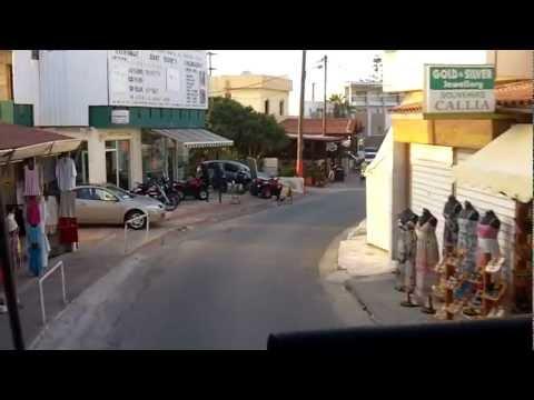 Gouves, Crete - By Bus