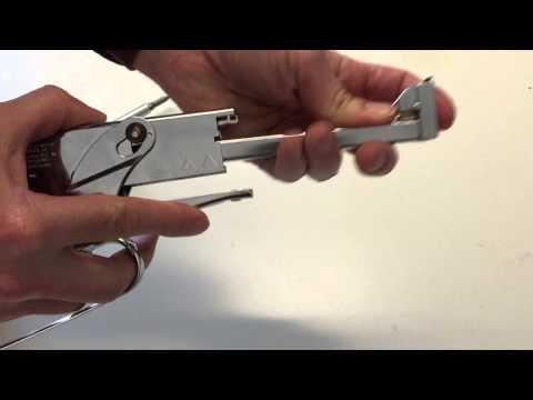 How to Clear a Jam from the Arrow Plier Stapler