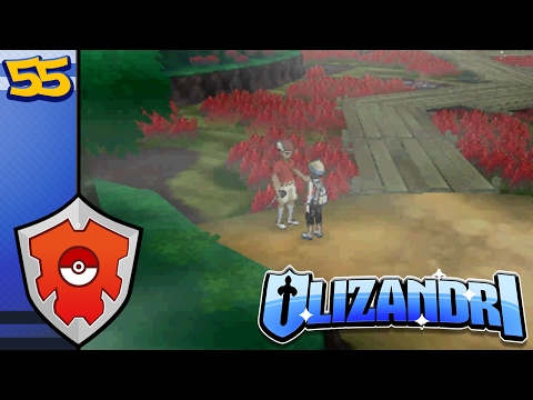 Pokemon Moon - Flame Orb Fight, Approaching Skull Territory - Episode 55