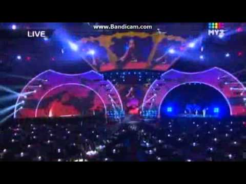 КАСТА - Сочиняй мечты (ft. Уля) [Премия МУЗ-ТВ 2012]