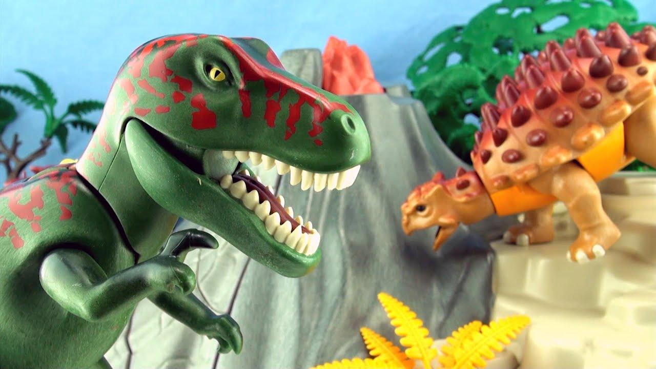 Playmobil tyrannosaurus dinosaur playmobil 5230 dinos - Dinosaur playmobile ...