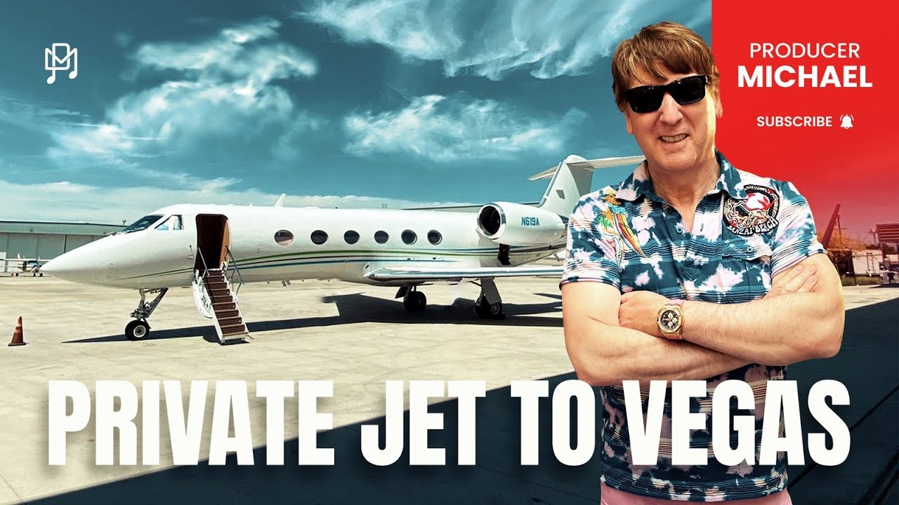 FLYING FROM LA TO VEGAS ON A PRIVATE JET!!