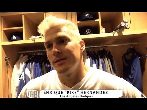 Kike Hernandez speaks after #OpeningDay
