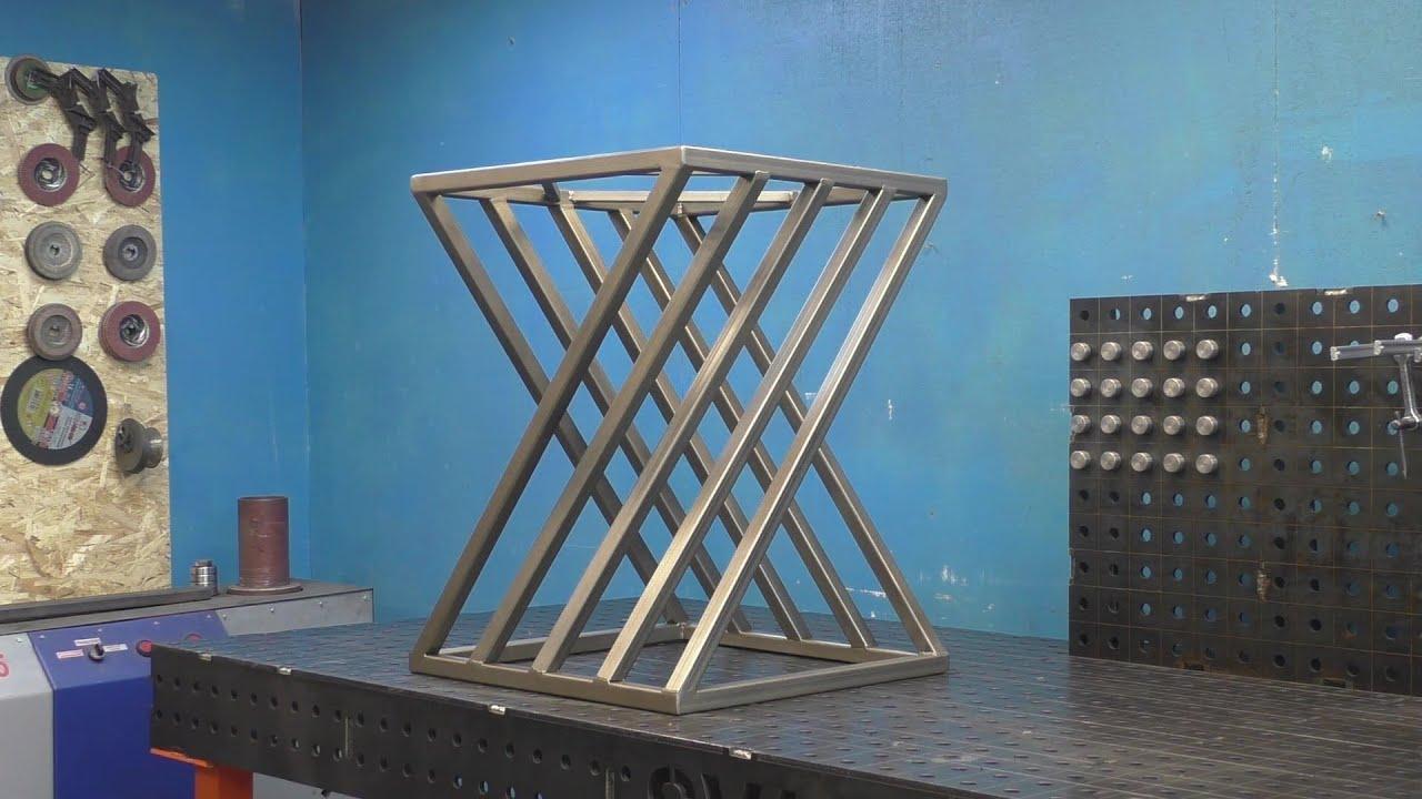 Угольник больше не нужен! 3D стол из профильной трубы! + розыгрыш