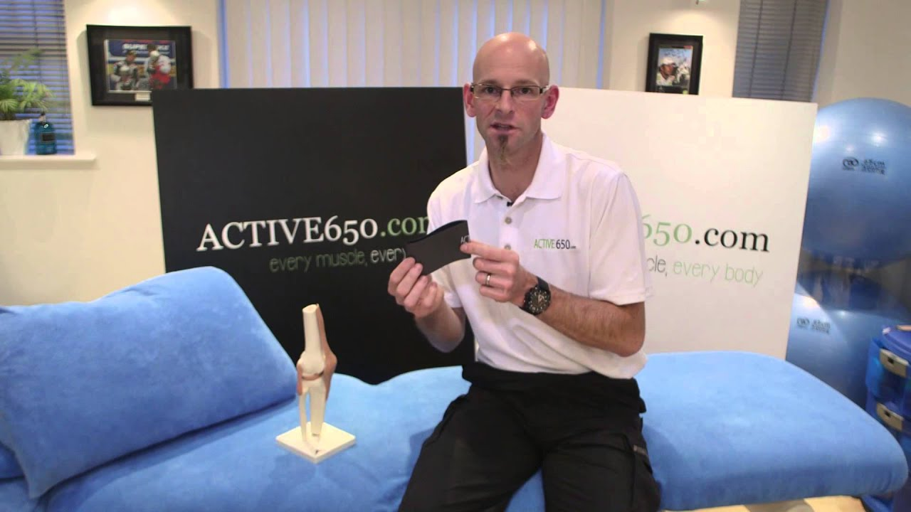 314b773a67 Active650 Knee Support for Knee Pain Treatment - YouTube