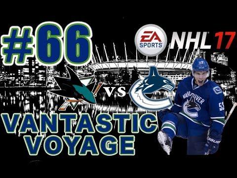 "NHL 17: Vancouver Canucks Franchise Mode #66 ""ROUND 1"""