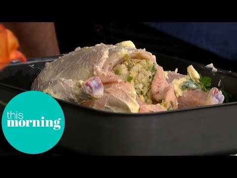 The Hairy Bikers' Roast Chicken and Trimmings | This Morning