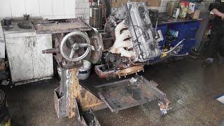 ремонт двигателя газель ЗМЗ 406 / 405 полная жопа при дефектовки.
