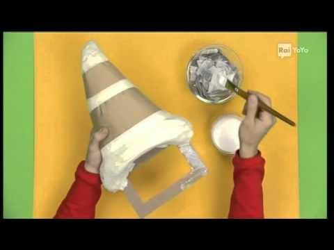 Castello Di Cartone Art Attack : Il cappello da stregone art attack youtube