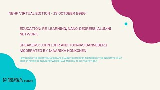EDUCATION: Re-learning & Nano Degrees with John Lohr and Toomas Danneberg