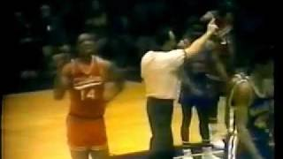 1973 PSAL Basketball Finals (Dewitt Clinton vs. Harren) @ The Felt Forum.mp4