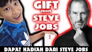 GIFT from STEVE JOBS !!! DAPAT HADIAH dari STEVE JOBS !!!