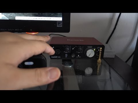 hook up studio monitors