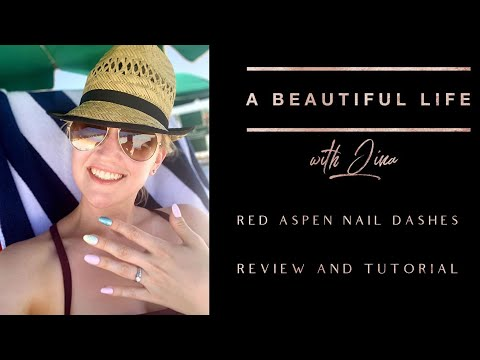 Red Aspen Nail Dashes - The Best At-Home Manicure