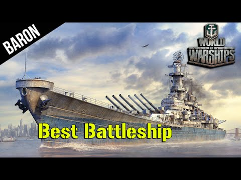 World of Warships Iowa - BEST Battleship!  Iowa Tier 9 US Battleship