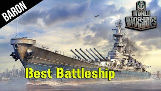 World of Warships Iowa - BEST Battleship!  Iowa Tier 9 US Battleship