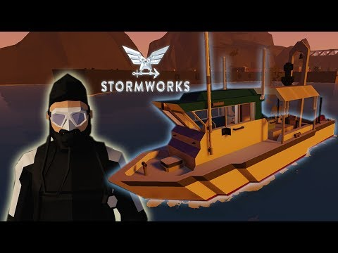 MI PRIMER RESCATE EN ALTA MAR ⭐️ Stormworks: Build and Rescue | iTownGamePlay