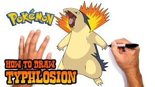 How to Draw Typhlosion   Pokemon