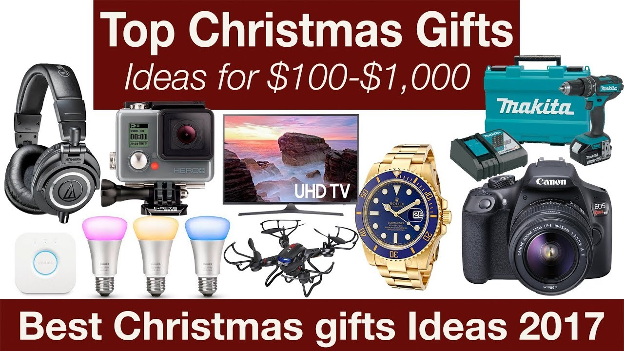 Best Christmas Gift Ideas 2017 99 1 000 Youtube: best christmas gifts for 2017