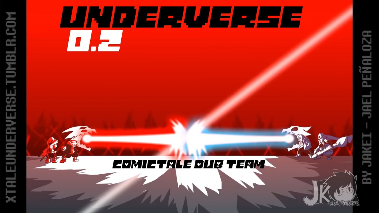 UNDERVERSE 0 2 Part 2 | Андервёрс Часть 2 (Русский дубляж) [DUB ComicTale Team]