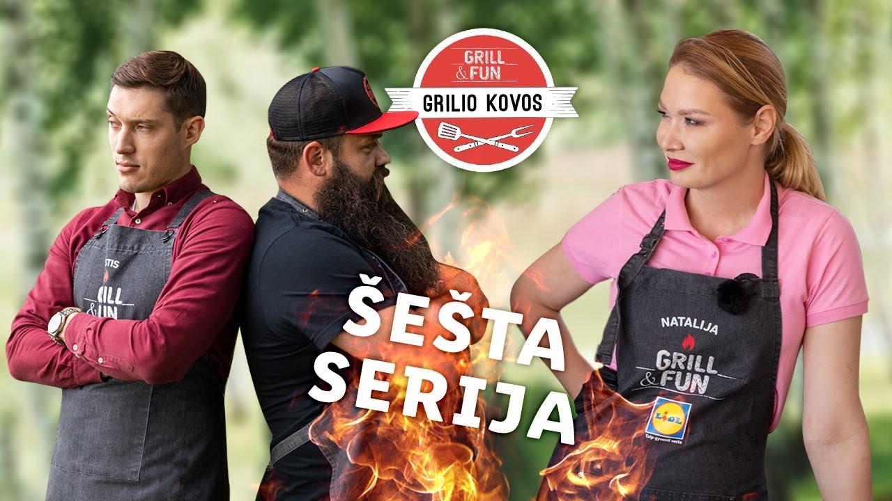 """Grilio kovos"" 2020 – Natalija prieš Aistį! Šešta serija"