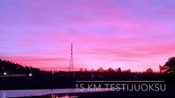 Kari Lepistö testijuoksu 2.1.2020