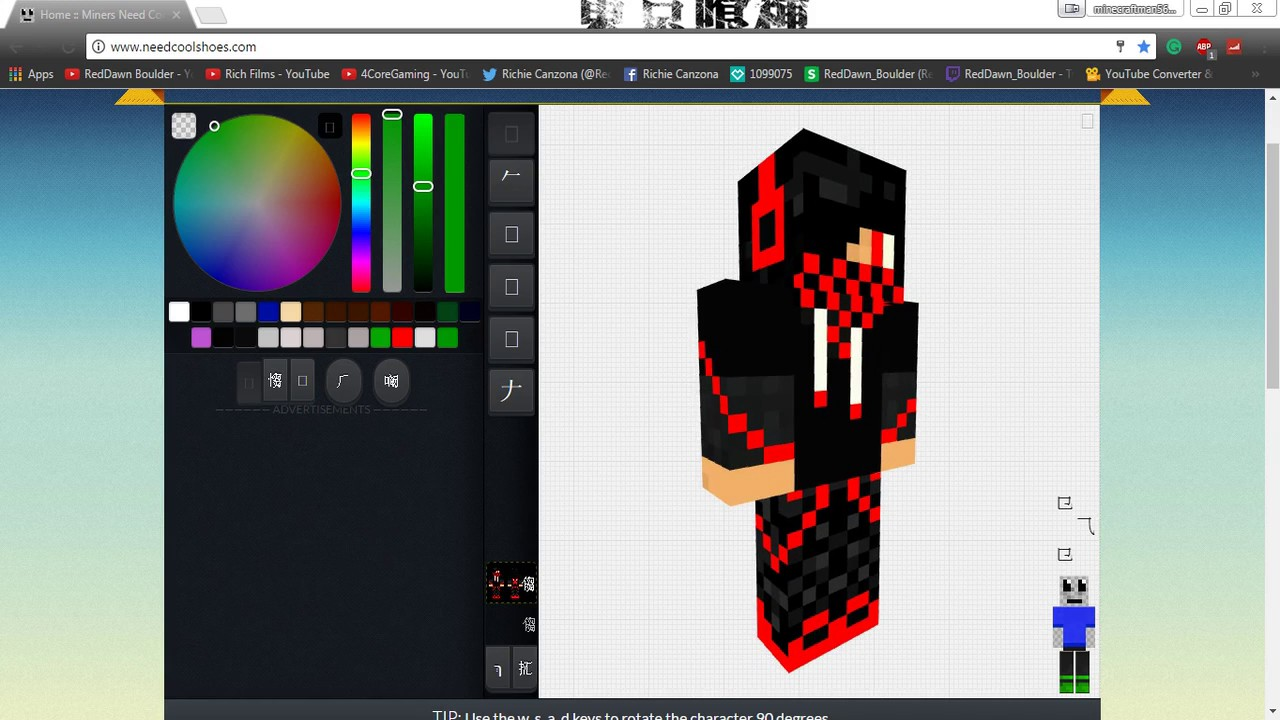 The Best Minecraft Skin Editor - Geeky Matters w/ OhGaming Network