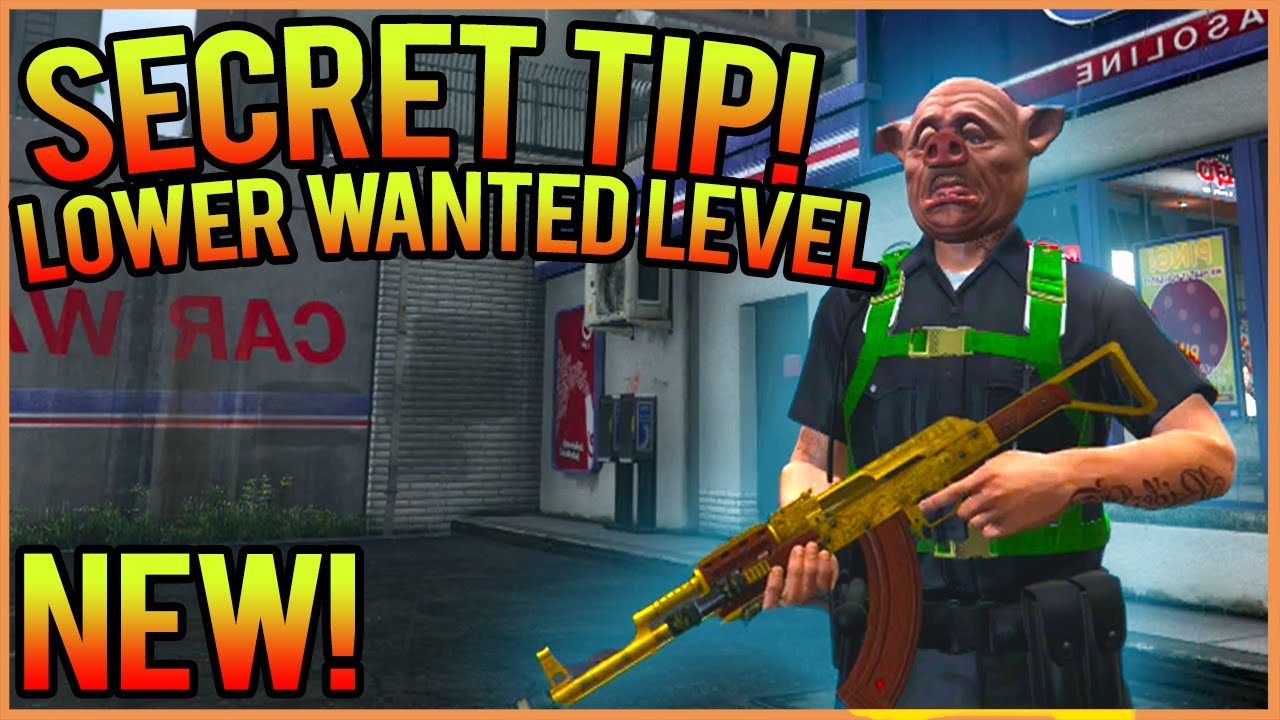 Lower Wanted Level Cheat - Decidel
