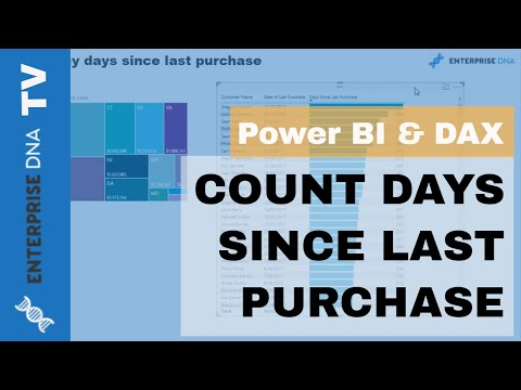 Calculate Days Since Last Purchase Using DAX In Power BI