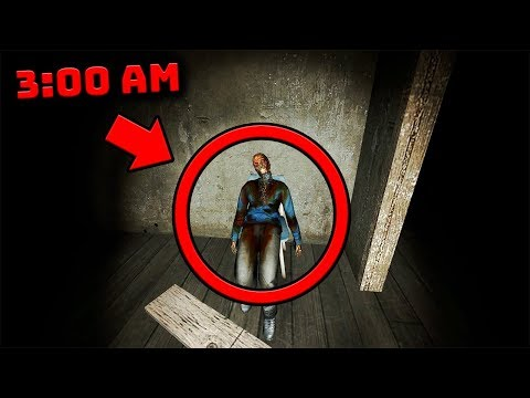 We were KIDNAPPED by a SCARY MURDERER at 3:00 AM    (Garry's Mod Horror Map)