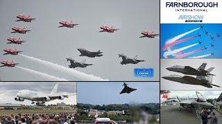 挑戰新聞軍事精華版--英國航展,美「F-22」猛禽與「F-35」並飛,西方匿蹤戰機秀軍事實力