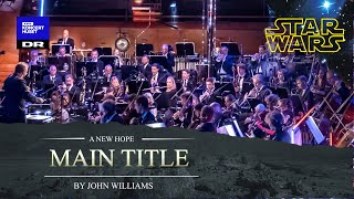 Star Wars - Main Title // The Danish National Symphony Orchestra (Live)