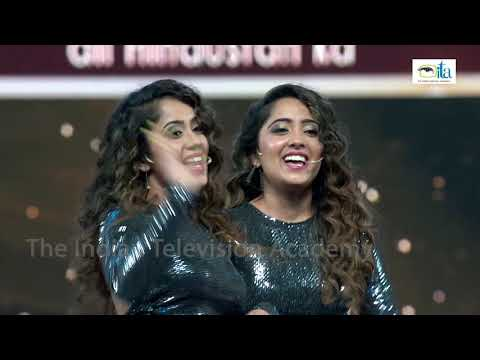 Aditya Narayan's Confusion and Chinki Minki का Two in one जादू | The ITA Awards