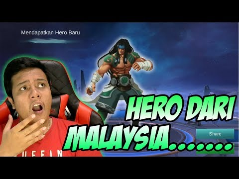 SETELAH HERO NYI RORO KIDUL, MALAYSIA GAK MAU KALAH ?? ADA HERO BARU MOBILE LEGENDS DARI MALAYSIA