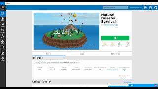 roblox #2 disastro naturale