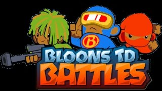 Bloons TD Batlles Best strategy for Ceramic crucible (GET UNLIMITED MEDALLIONS)