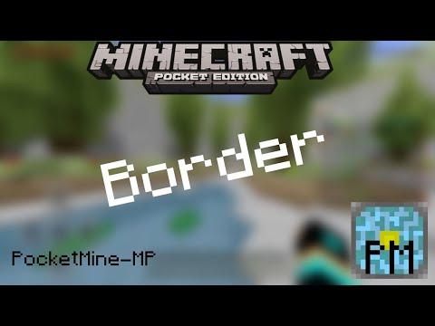 Minecraft PE / BE (1.7.x) : PocketMine Border Plugin - Download Link!