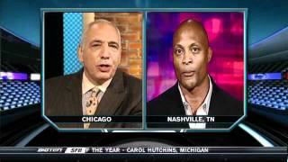 Eddie George Reacts To Hall Of Fame Induction