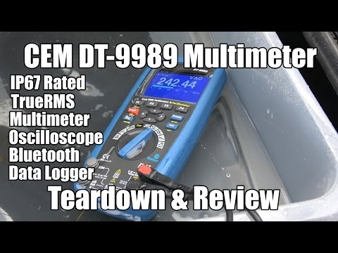 CEM DT-9989 Multimeter - Teardown & Review