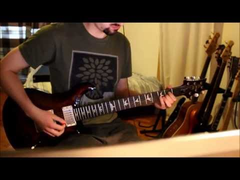 Sikth: Part of the Friction guitar cover - Barry Enright