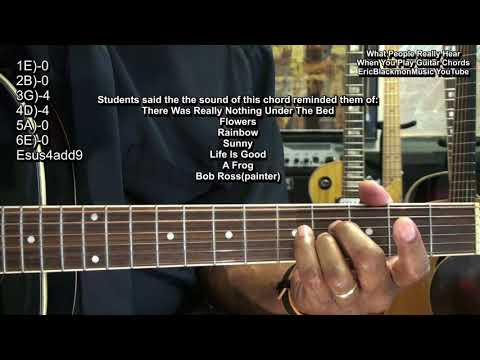 What People Think And Feel When You Play Guitar Chords - EEMusicLIVE